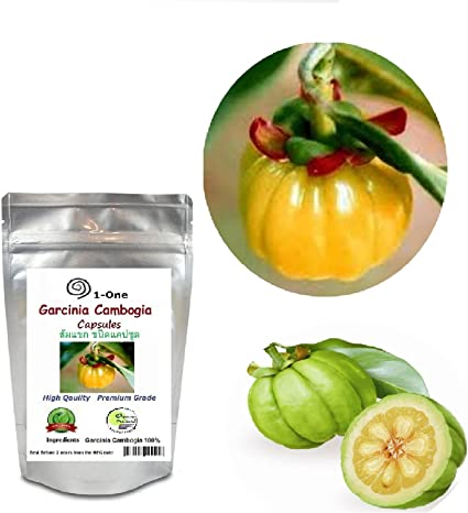 Amazon Com Garcinia Cambogia Fruit 500 Capsules 500 Mg 100