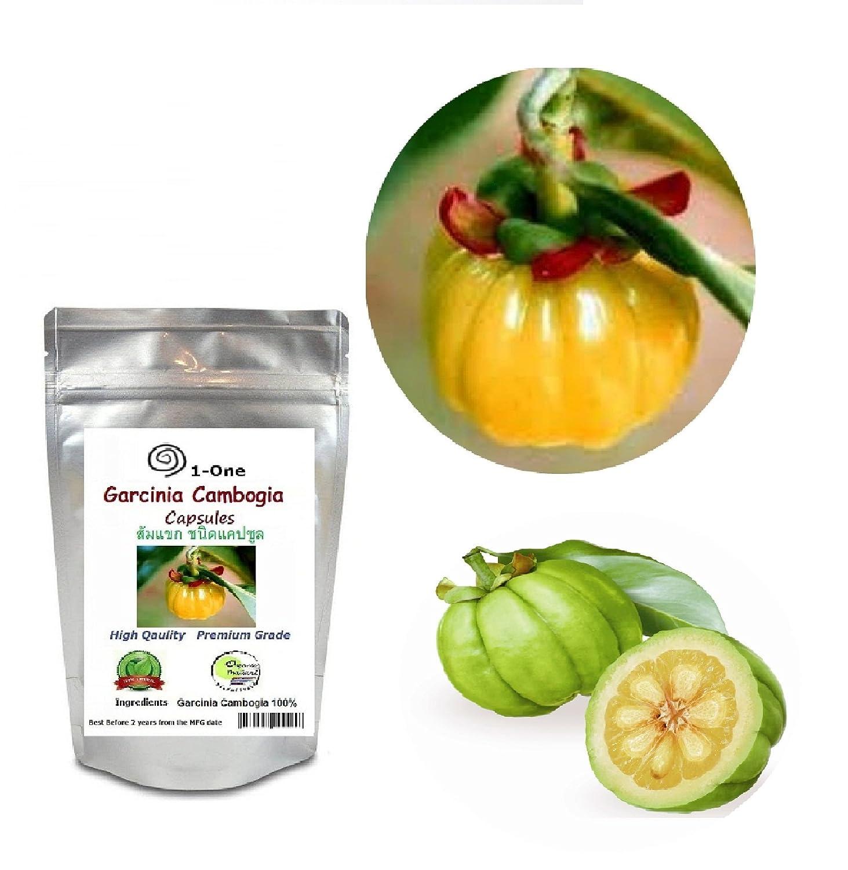 Amazon Com Garcinia Cambogia Fruit 500 Capsules 500 Mg 100
