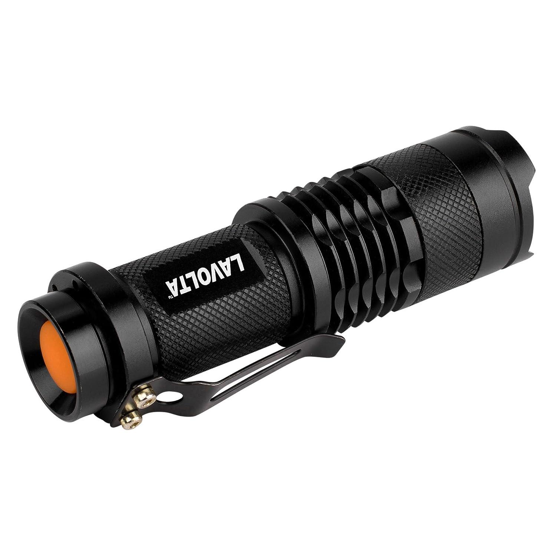 Lavolta F5WC-3 Cree XMLQ5 5W LED Flashlight Three Mode