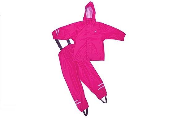 Elka Regenanzug Regenhose + Regenjacke für Kinder, wasser- und ...