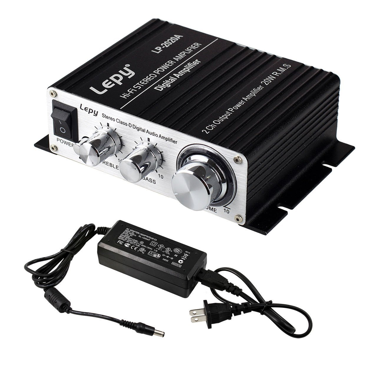 Lepy Lp 2020a Power Amplifier Stereo Hifi Digital Audio Lepai Tripath Ta2020 Class T Mini Amp Car Auto Motor With 5a Supply Black Musical Instruments