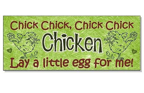 Amazon.com: Pollito pollo poner un poco de huevo para mí ...