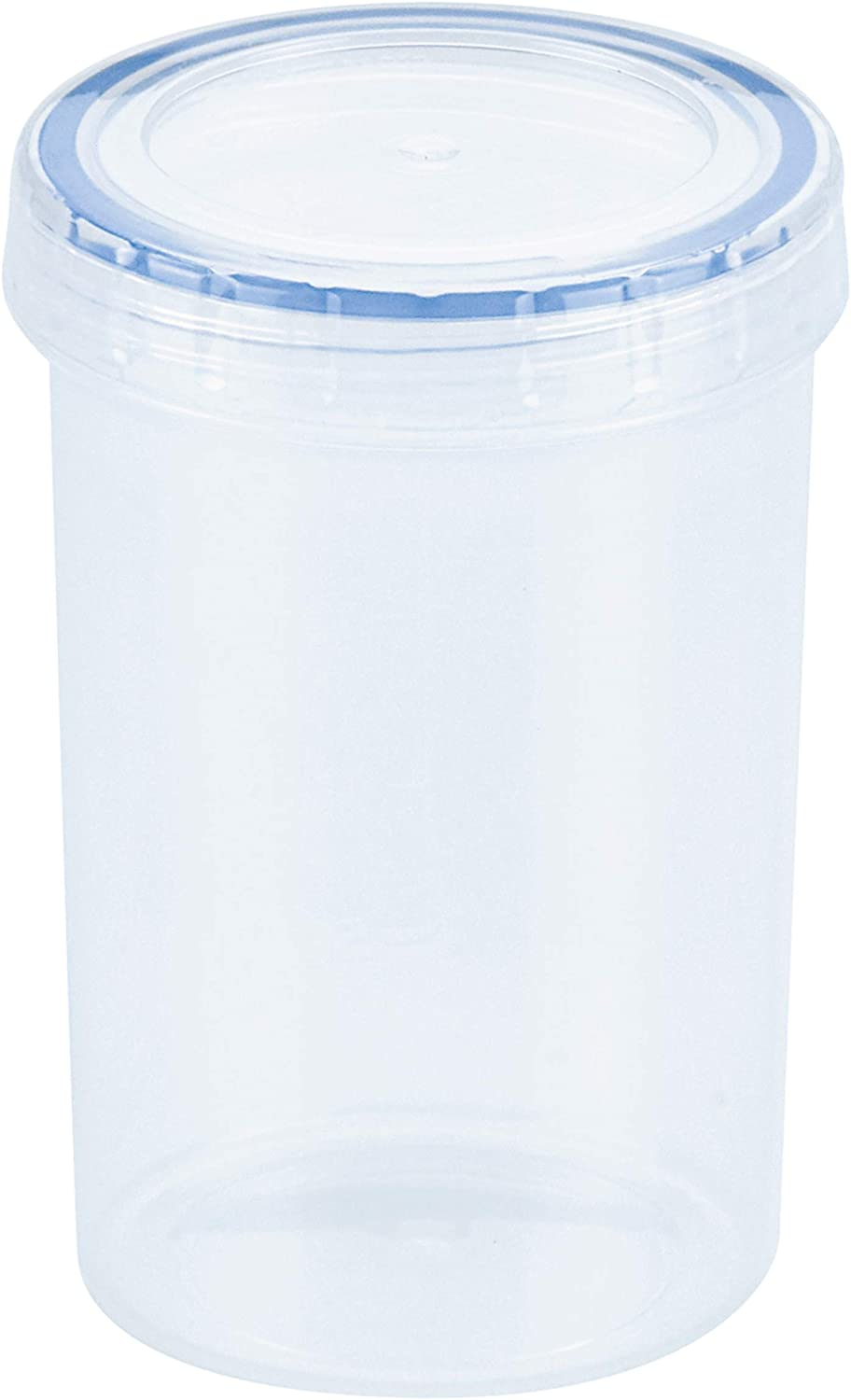 LOCK & LOCK Easy Essentials Twist Food Storage lids/Airtight containers, BPA Free, Tall-11 oz-for Nuts, Clear