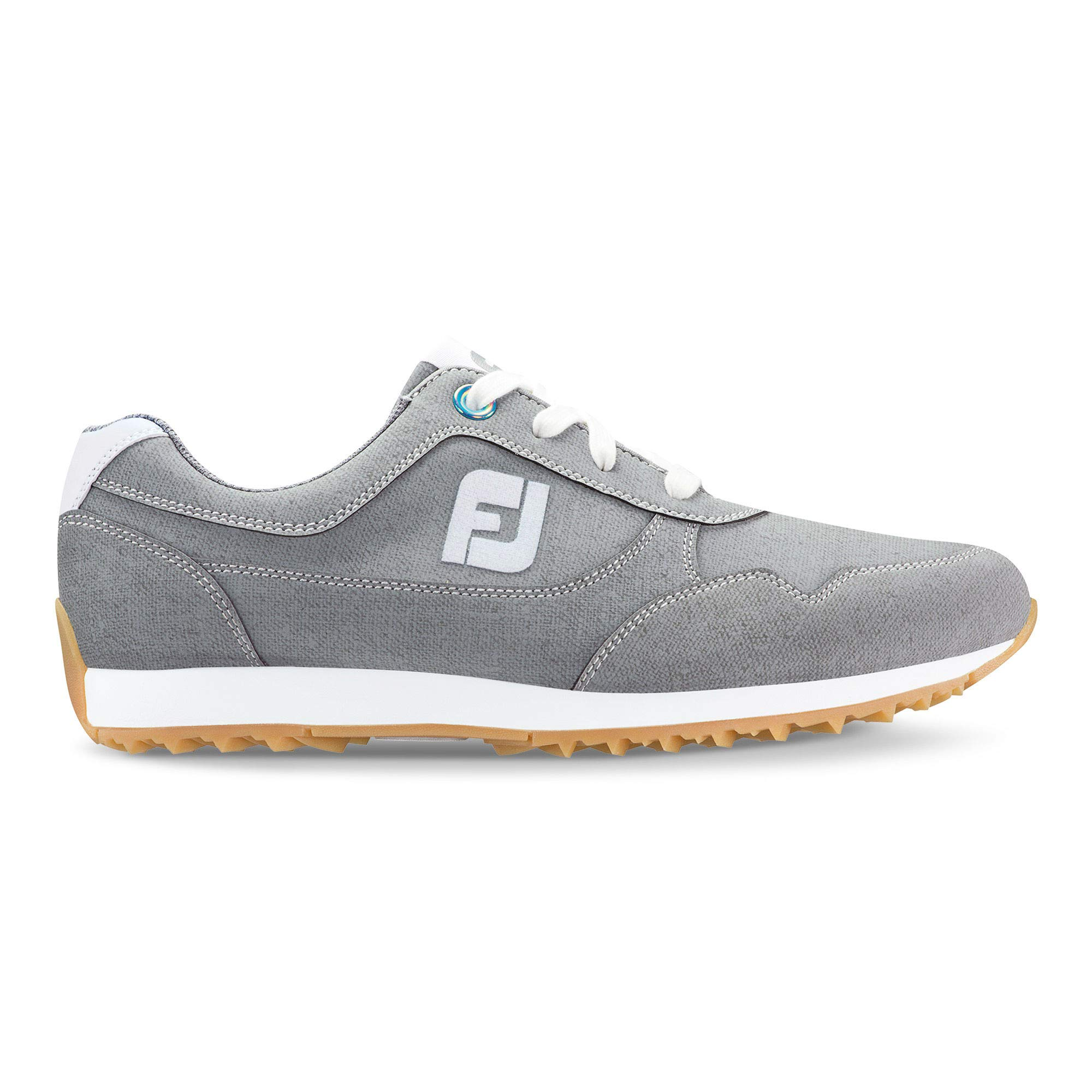 FootJoy Women's Sport Retro Golf Shoes Grey 5.5 M US by FootJoy