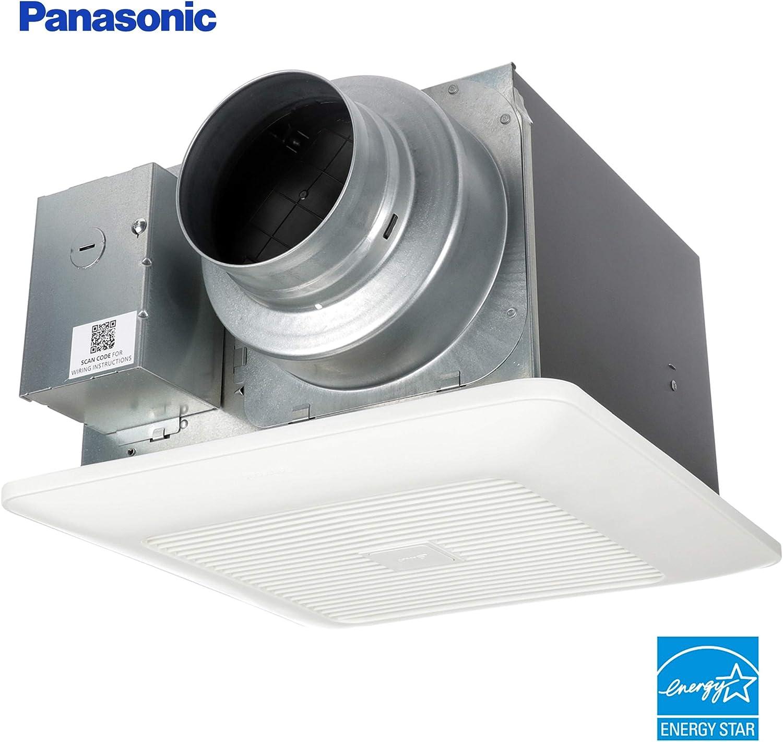 Panasonic Fv 0511vk2 Whispergreen Select Ventilation Fan 50 80 110 Cfm Amazon Com