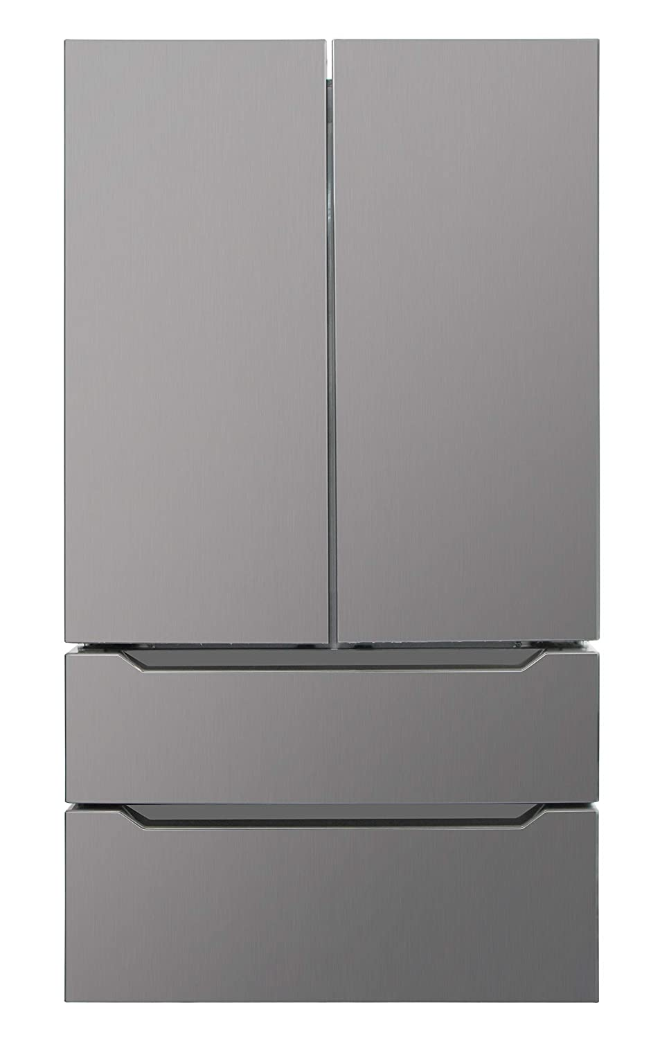 Thor Kitchen Black Stainless Steel, Automatic Ice-maker, 36inch Wide Refrigerator with Counter Depth French Door