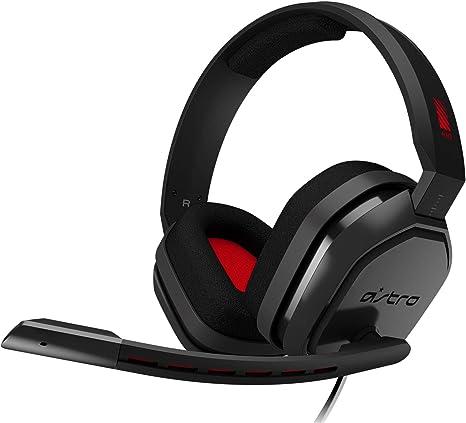 ASTRO Gaming A10 Auriculares alámbricos, Ligeros y Resistentes, Astro Audio, Dolby Atmos, Clavija de 3.5mm, para Xbox Series X|S, Xbox One, PS5, PS4, Switch, PC, Mac, móvil - Negro/Rojo: Amazon.es: Informática