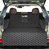 Pets Cargo Liner SUV Dog Cargo Cover, Waterproof Dog Seat Cover Mat for Back Seat Trucks/SUV with Bumper Flap Protector, Nons