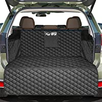 Pets Cargo Liner SUV Dog Cargo Cover, Waterproof Dog Seat Cover Mat for Back Seat Trucks/SUV with Bumper Flap Protector…