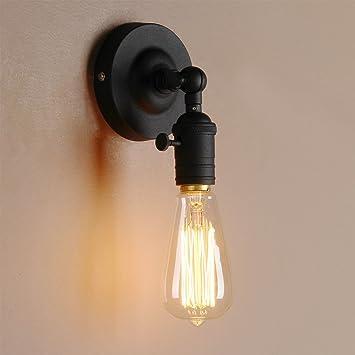 Azx Lumiere Rétro Industrielle Lampe Applique Murale Métal Ajustable