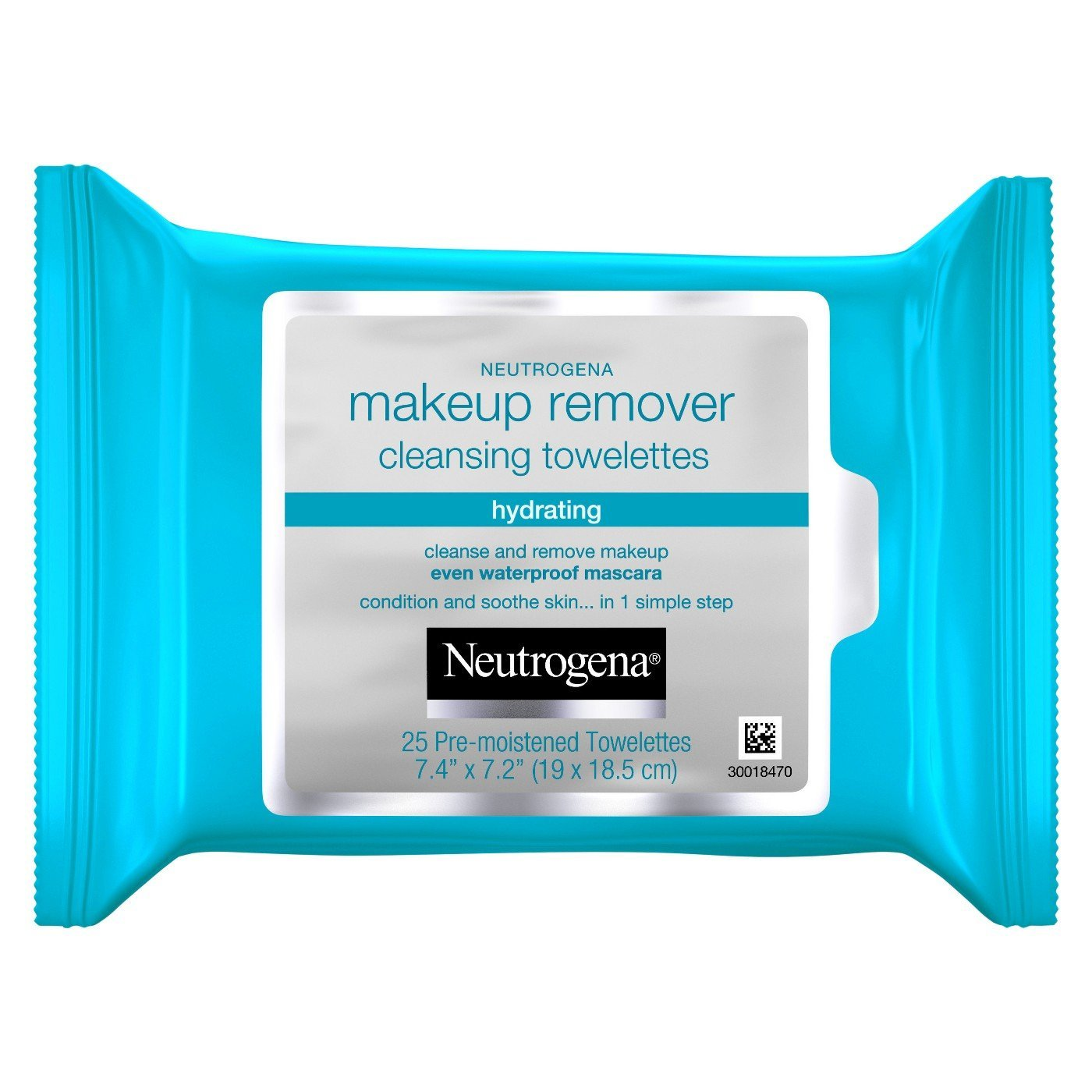 Amazon.com: Neutrogena Makeup Remover Cleansing Towlettes Hydrating, 25 Count (Pack of 2): Beauty