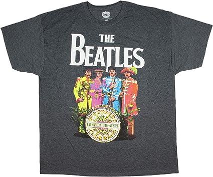 blanco Los Beatles Sgt Pimienta para mujer Manga corta Camiseta talla 14-Para Mujer