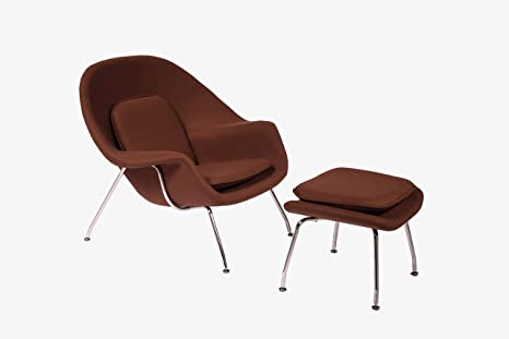 Fantastic Cashmere Womb Chair And Ottoman Simple Modern Fashiounge Lounge Chair And Ottomann Style In Living Room Coffee Machost Co Dining Chair Design Ideas Machostcouk