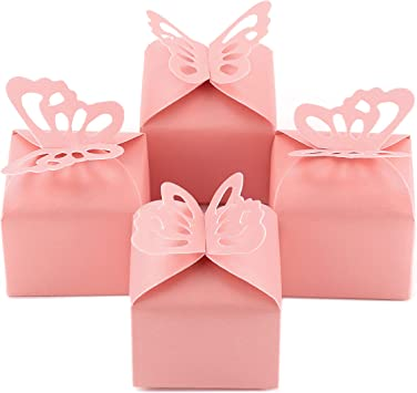 Keepsake Baby Shower Favor Box for Girl ITS A GIRL Baby Shower Party Favor Favour Box for Baby Shower Girl Pink Baby Shower Favor box