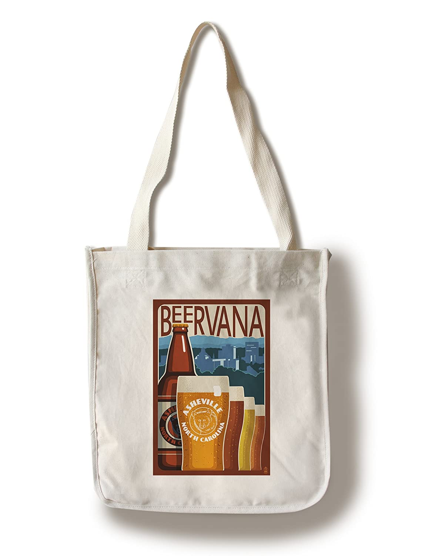 魅了 Asheville、ノースカロライナ州 – Canvas Beervana Sign 12 x 18 Metal Tote Sign LANT-45959-12x18M B01841C7HU Canvas Tote Bag Canvas Tote Bag, 彩屋:ba142b48 --- 4x4.lt