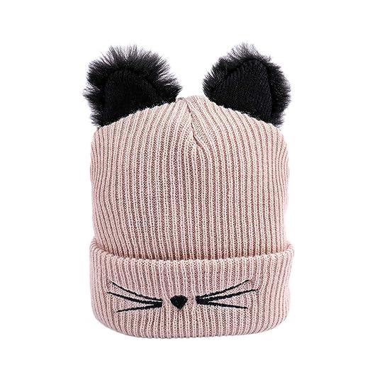 fc8af20ef Women Winter Fashion Keep Warm Cat Ear Winter Hats Knitted Wool ...