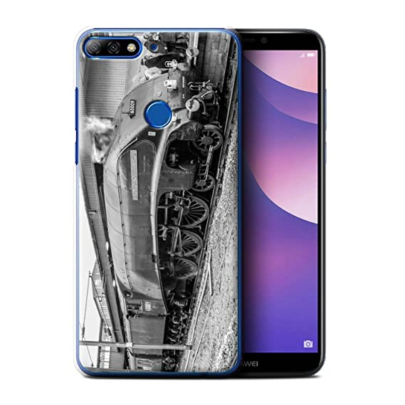 buy popular 81ad6 31825 Amazon.com: STUFF4 Phone Case/Cover for Huawei Y7/Prime/Pro (2018 ...