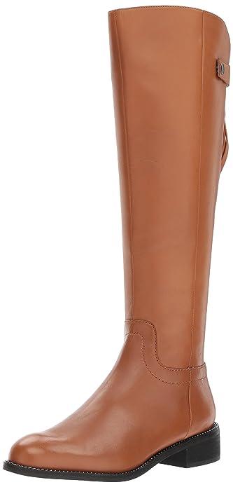 ecf8f1e7615 Franco Sarto Women s Brindley Knee High Boot Whiskey 4.5 Medium US