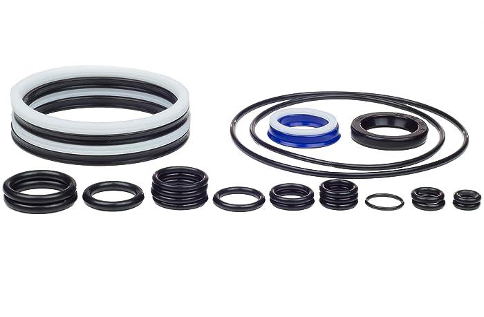 Kit King 435567 & 766446 Evinrude Johnson Trim Tilt Seal Aftermarket Kit, 1989-2004 Motors, 25HP 35HP 40HP 48HP 50HP, 435903 435894 433816 Rebuild O-Ring