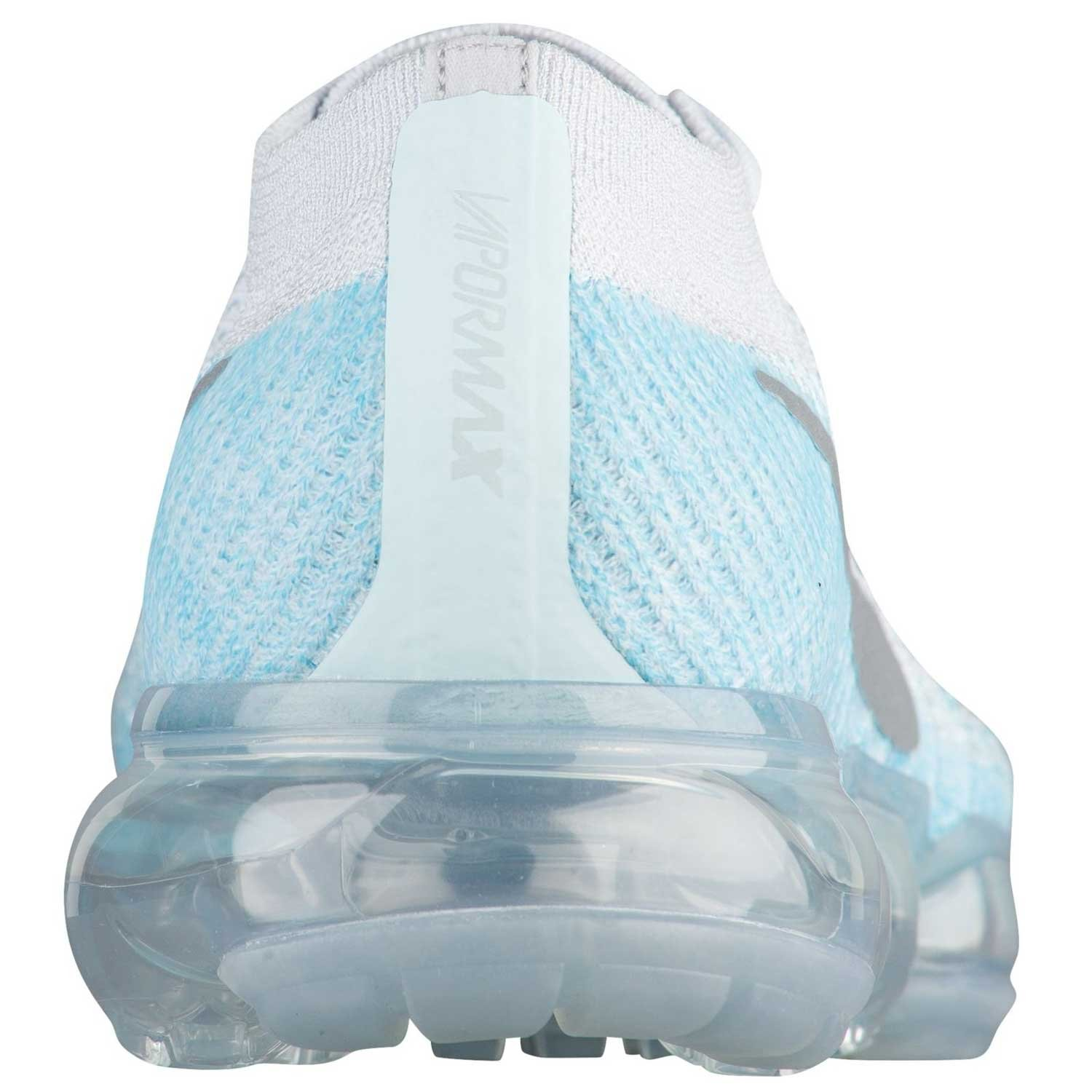 Nike WMNS Air Vapormax Flyknit Ice Flash 849557-014 Platinum Blue Women s Running Shoes