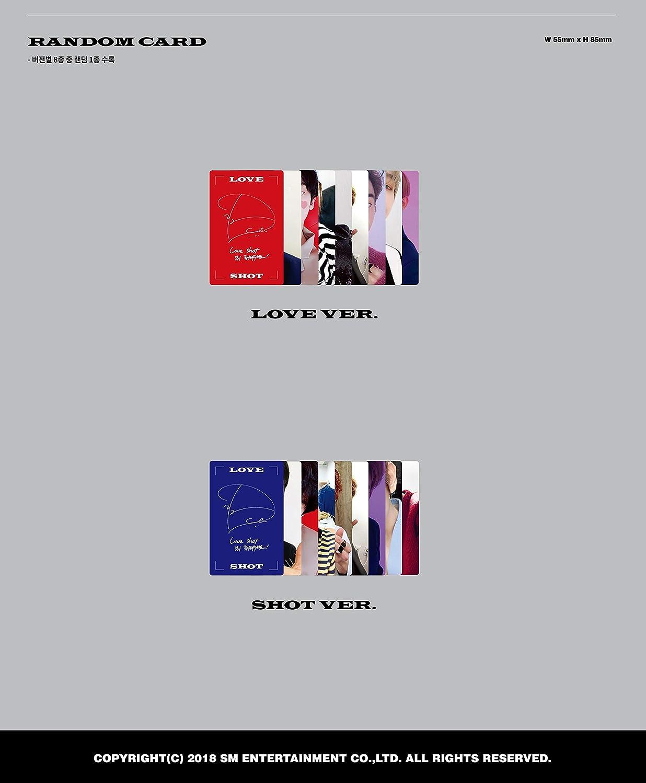 EXO The 5th Album Repackage 'Love Shot'