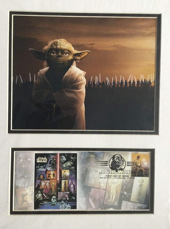Star Wars Luke Skywalker First Day Of Issue 2007 Stamp Usps