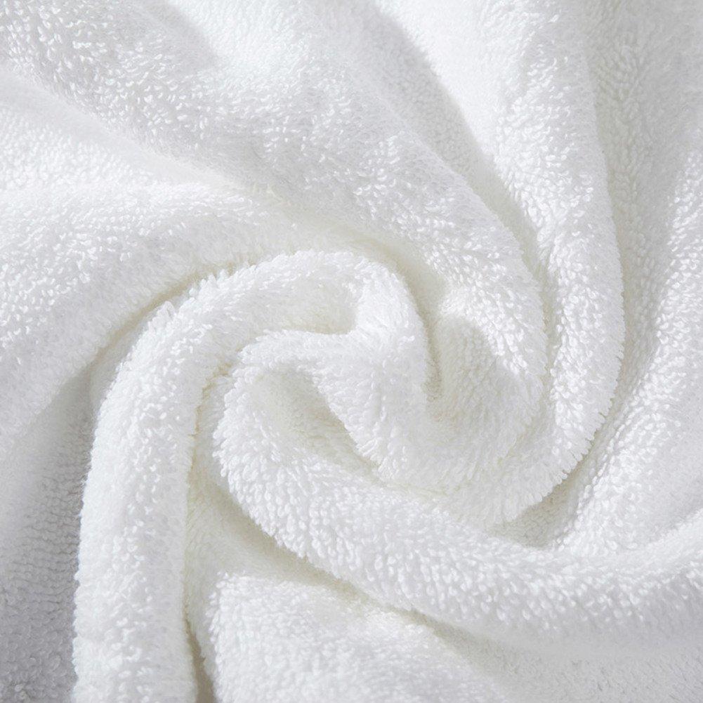HOMEE Plain Sponge Cotton Bath Towel/Sponge Cotton Increased Thick Soft Towels of Absorbent Adult Child,D
