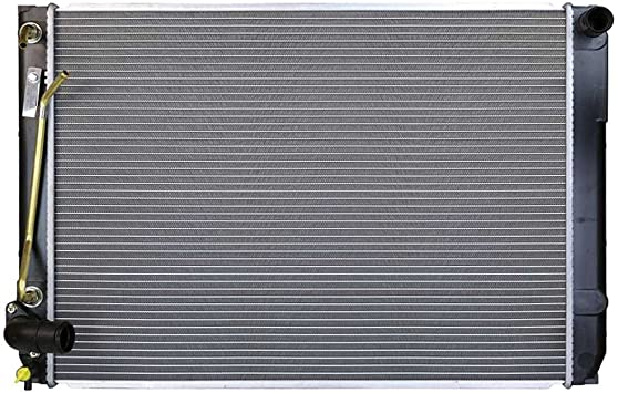 Prime Choice Auto Parts RK589 Aluminum Radiator