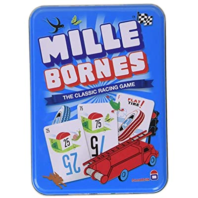 Big Game Toys~MILLES BORNE Classic French Racing Card Game New in Tin: Office Products
