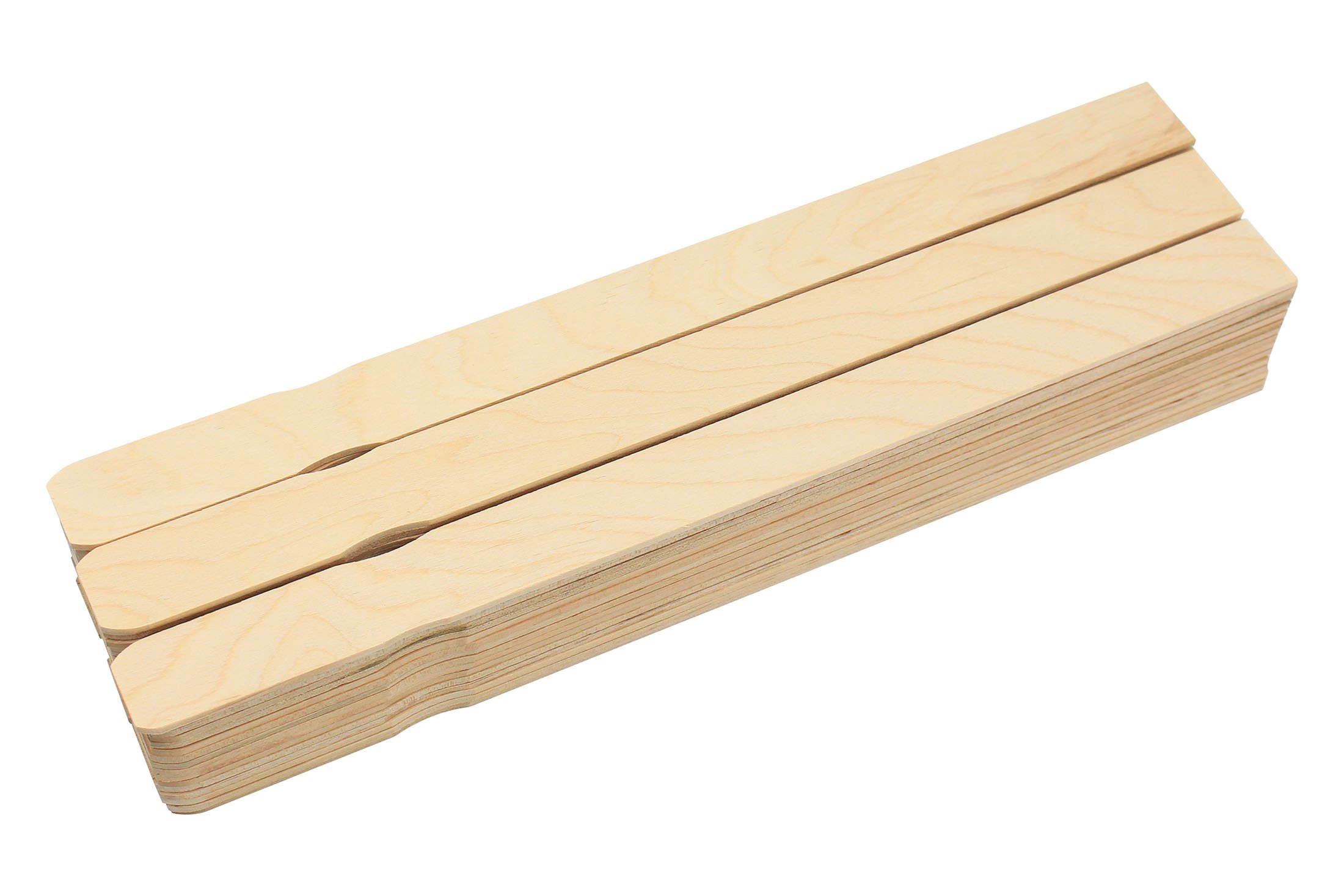 Birchwood Paint Stir Sticks Mixer Paddles 14 Inch Wood Crafts Bulk 50 Pcs