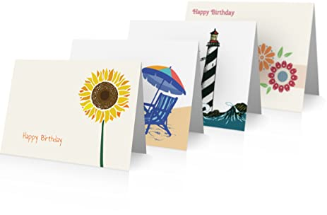 Amazon Birthday Card Variety Pack 24 Cards Envelopes