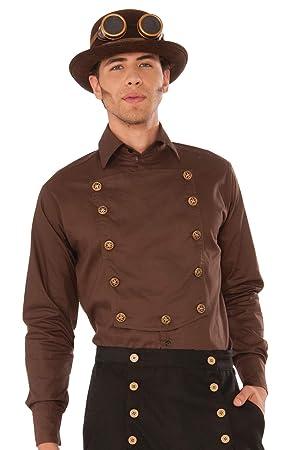 "Forum Novelties X76370 Steampunk - Camisa para hombre (42"")"