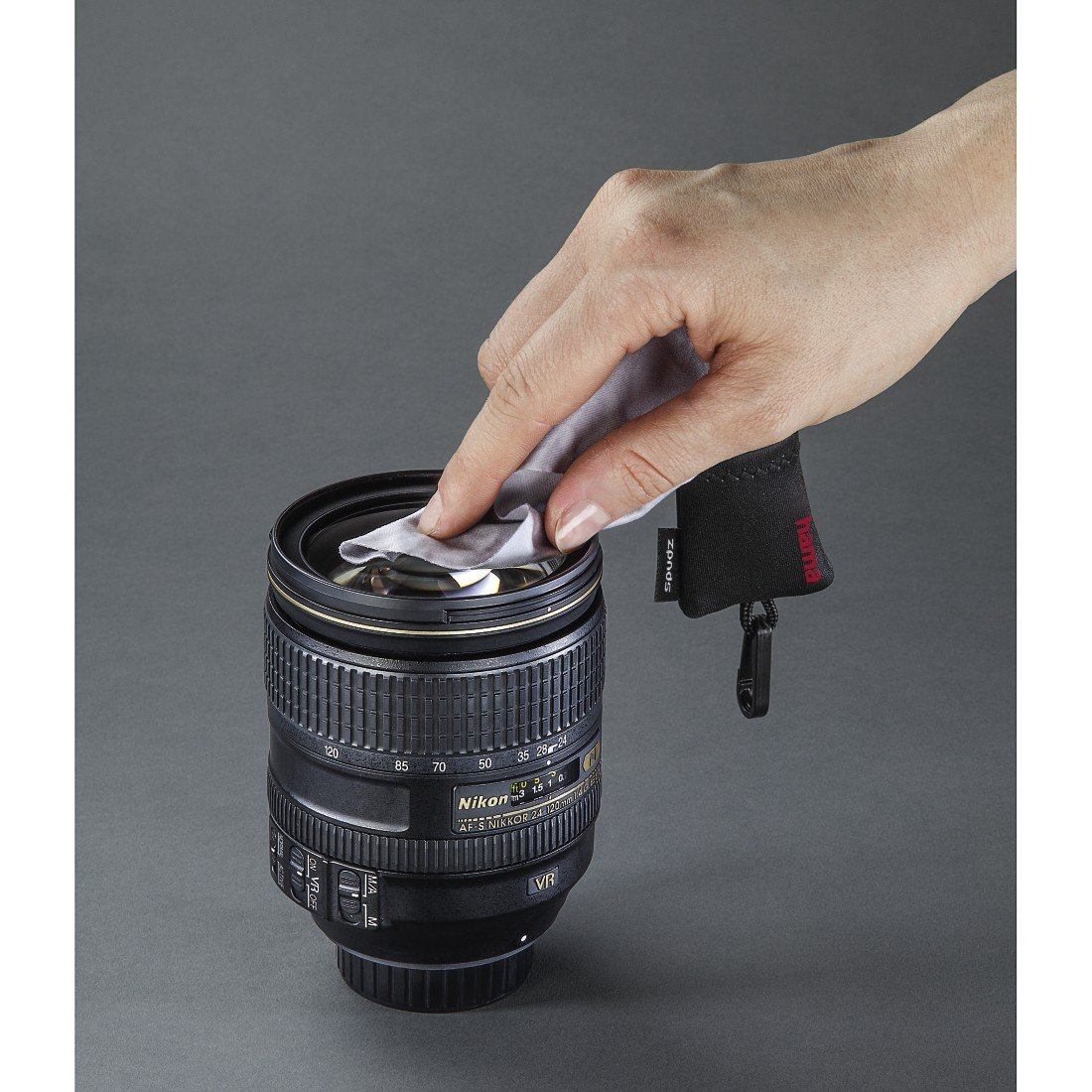 Hama Chiffon de Nettoyage en Microfibres Pocket, Noir  Amazon.fr  Photo    Caméscopes 91182ae5c490