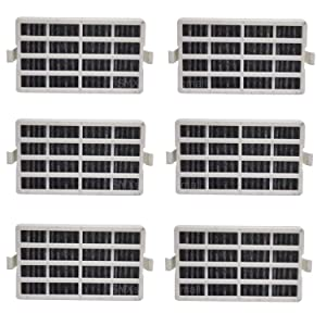 6Pack Air Filter Compatible with Whirlpool W10311524 AIR1 Refrigerator Air Filter