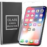 iPhone XS Max ガラスフィルム 強化ガラス 保護フィルム 液晶保護フィルム 業界最高硬度9H 高感度  気泡防止 飛散防止【3枚セット】