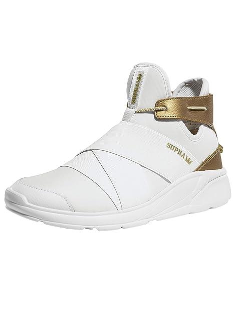 64c5ecc78037 Supra 95667 Women s Anevay Sneaker Black White  Amazon.ca  Shoes ...
