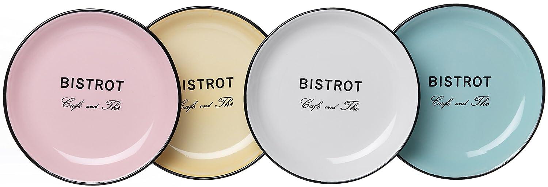 Ritzenhoff /& Breker Serie Bistrot Multicolor 14 x 14 x 7 cm cer/ámica