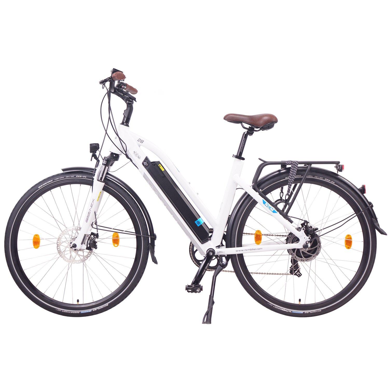 "NCM Milano 2016 28"" bicicleta de trekking, 36 V 250 W 14 Ah"