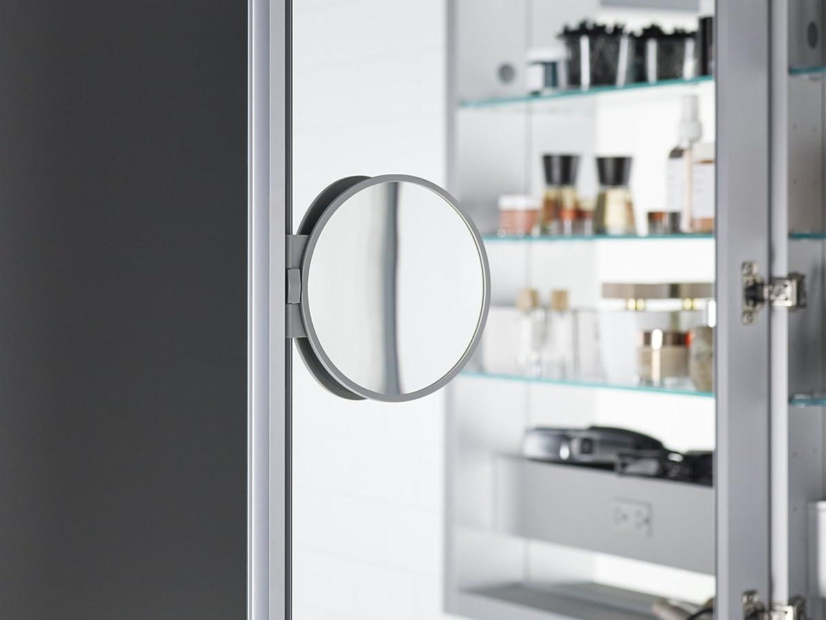 KOHLER 99007-TL-NA Verdera Lighted Medicine Cabinet, Aluminum