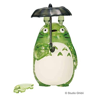 BEVERLY Crystal Puzzle [42 Pieces] Totoro/Green (Japan Import): Toys & Games