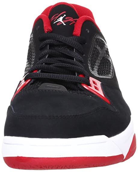 competitive price a2585 65eb5 Amazon.com   Nike Jordan Flight 23 RST Low Black Gym Red Bred Mens  Basketball Shoe 525512-001  US size 9.5    Shoes