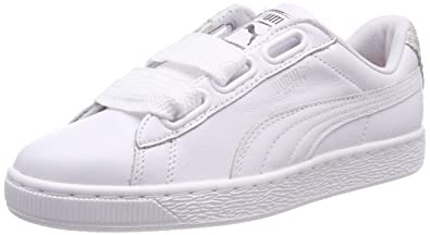 Amazon.com | Puma Women's Basket Heart Bio Hacking WN's Low-Top ...