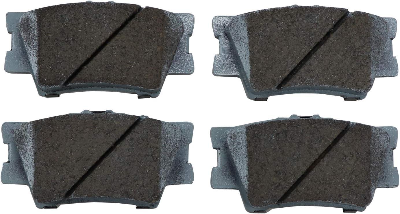 Disc Brake Pad Set Rear Beck//Arnley 085-1717