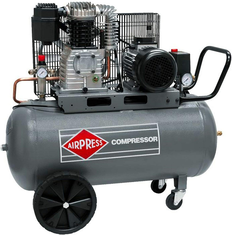Airpress HK 425-100 - Compresor de aire (3 CV, 2,2 kW, 10 bar, 100 ...
