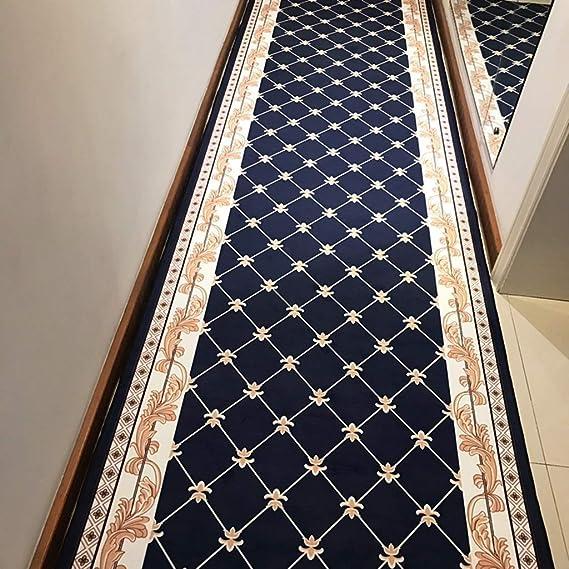 LIL Alfombras De Pasillo Largo Alfombra Corredor de la vendimia europea for la escalera de caracol Pasillo nórdica, Comercial Hogar hotel Salón nórdica alfombra de pasillo puede ser cortado Alfombra a: Amazon.es:
