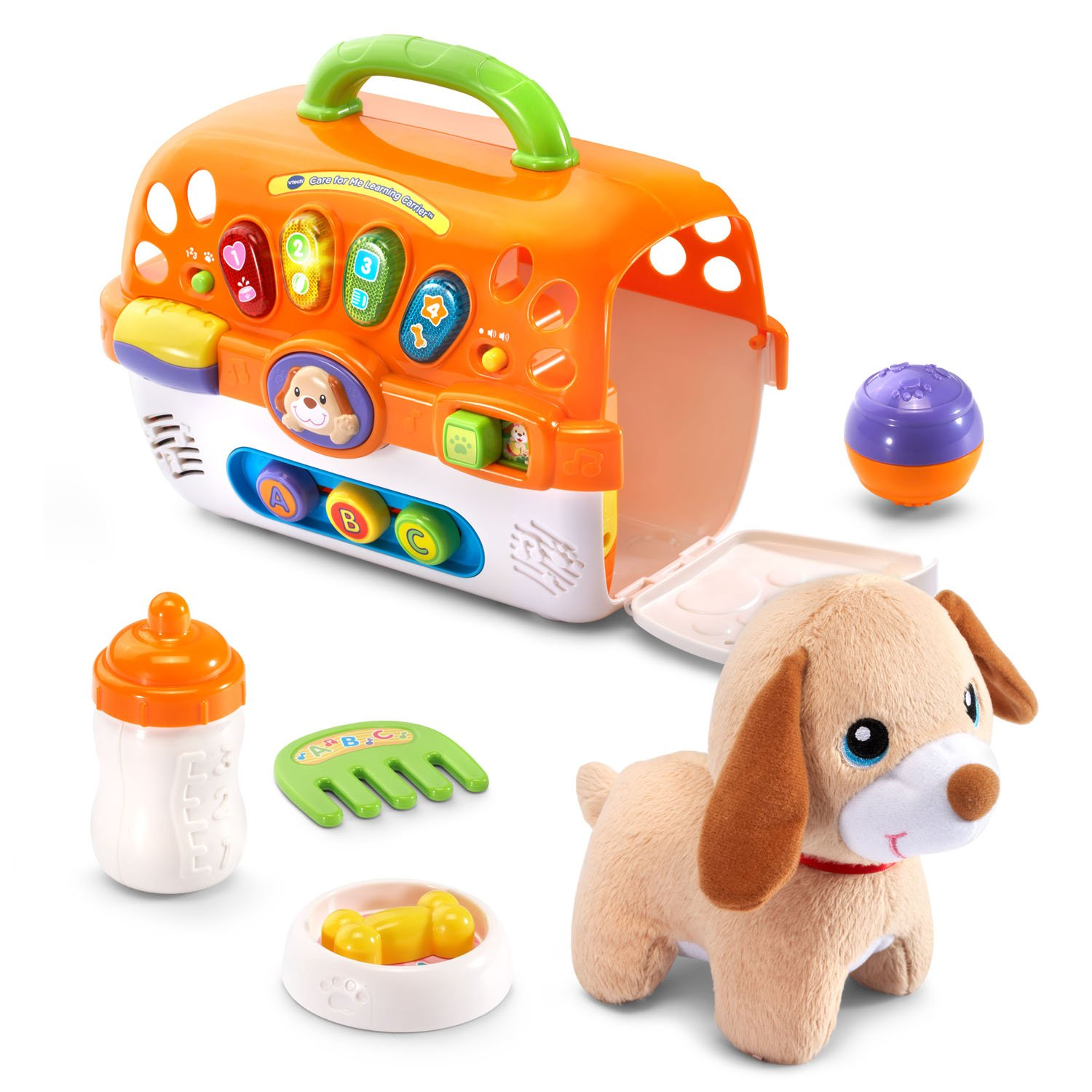 VTech Care for Me Learning Carrier Toy, Orange by VTech