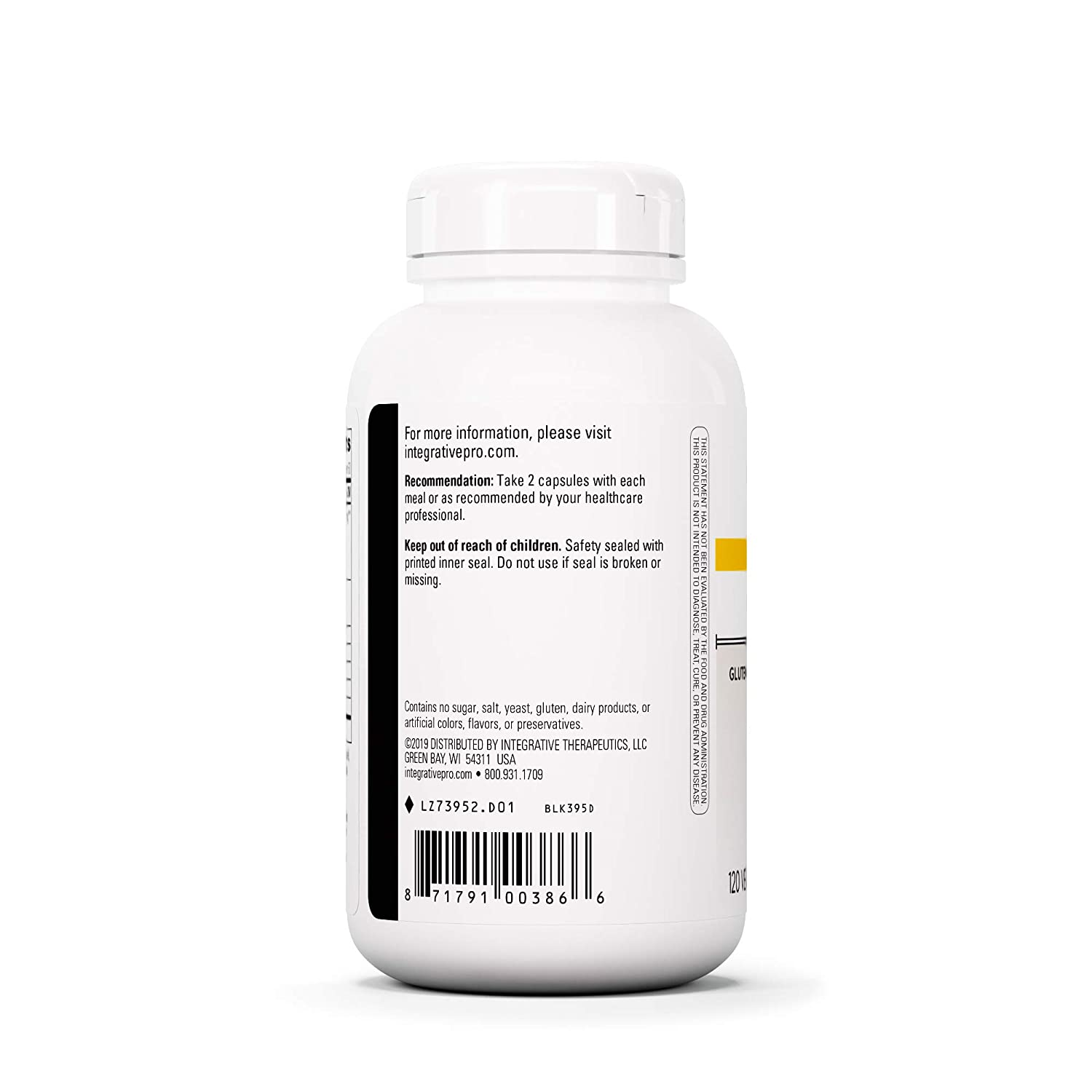 Integrative Therapeutics - Similase GFCF 120 UltraCaps ...