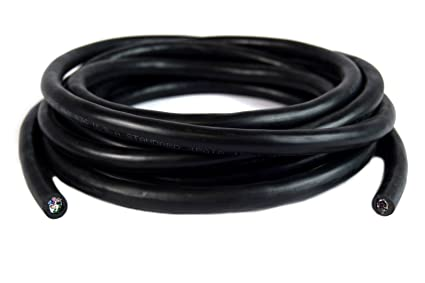 Amazon.com: Trailer Light SPEED Cable Wiring Harness 20ft 18 Gauge 9 ...