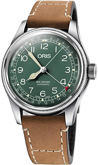 Oris Big Crown d.26 286 hb-rag edición limitada Mens Reloj 75477414087ls
