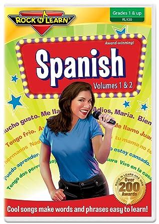 Amazon com: Spanish DVD by Rock 'N Learn: Rock'n Learn